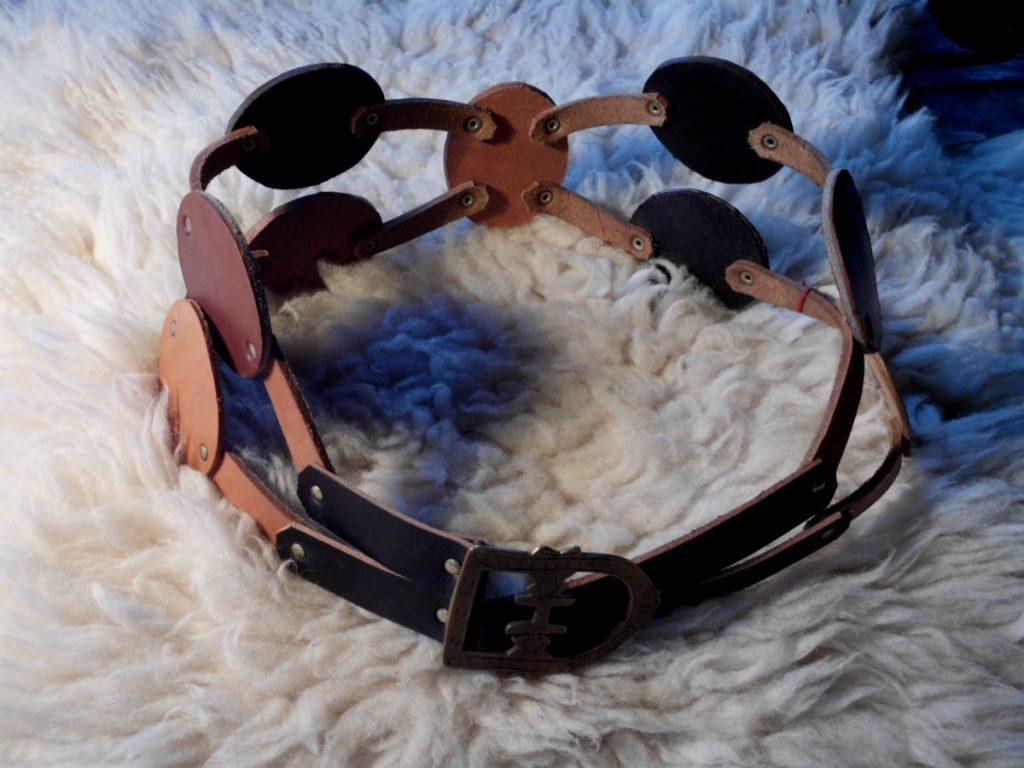"""ceinture cuir type """"gladiateur"""""""